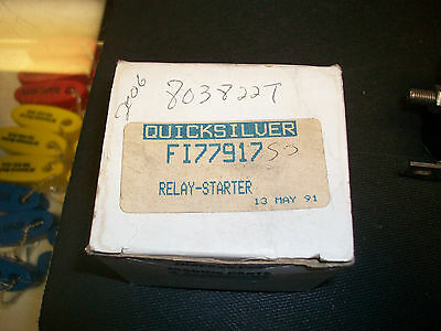 FITS OMC EVINRUDE STARTER RELAY SOLENOID 155 155HP 1969-1992
