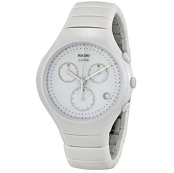 c18056d1031 Rado True White Chronograph Jubile Watch Item No. R27832702 for sale online