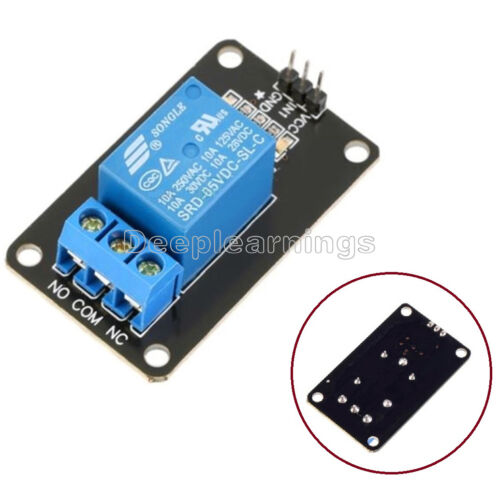 5 PCS 5V One 1 Channel Relay Module Board Shield For PIC AVR DSP ARM MCU Arduino