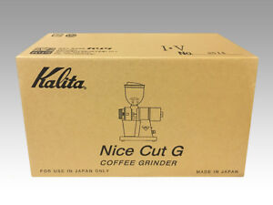Kalita Coffee Mill Nice Cut G 61102 Ivory White From Japan Dhl Fast Shipping 4901369611028 Ebay