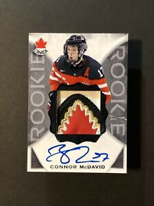 Connor-McDavid-CUSTOM-MADE-Team-Canada-Rookie-Patch-Card-1-of-5-Amazing