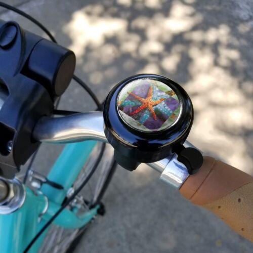 Starfish Watercolor Tropical Ocean Beach Bicycle Handlebar Bike Bell