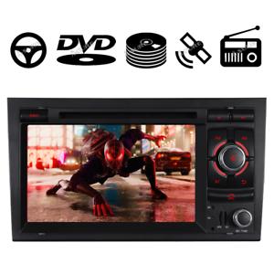 "7""IPS Autoradio DVD GPS Multimedia SWC MP3 16G Audi A4 S4 RS4 B6 B7 SEAT EXEO"