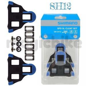 Shimano SH12 2° Float SPD-SL Cleat Set