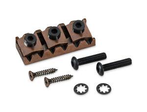 Genuine-Schaller-locking-nut-left-L2-Vintage-Copper-13130802