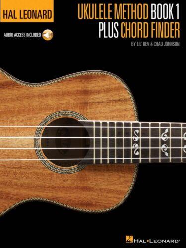 Ukulele Book 000696472 Hal Leonard Ukulele Method Book 1 Plus Chord Finder