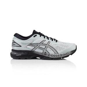 Asics Gel Kayano 25 Men's Running Shoes - Glacier Grey/Black
