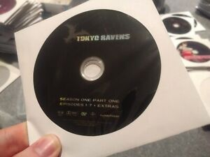 Tokyo-Ravens-Season-1-DVD-DISCS-ONLY-FUNimation-Anime-Region-1