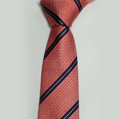 SIlver Knightsbridge Neckwear Mens Floral Silk Skinny Tie