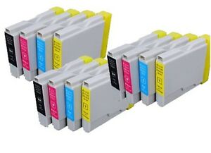 SET-12-Tinta-Compatible-IMP-NONOEM-FAX-1960C-LC1000-LC-1000-LC-970-LC970