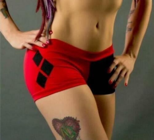 Short Pant Squad Harley Quinn Printed Pant S-5XL Bandage Short Pant