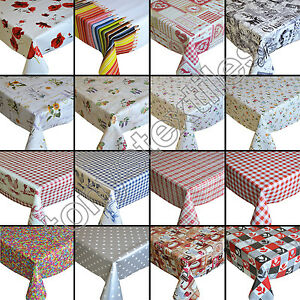 Merveilleux Image Is Loading PLASTIC TABLECLOTH WIPE CLEAN PVC VINYL WIPEABLE PARTY