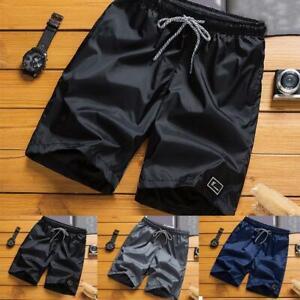 Men-Summer-Beach-Shorts-Athletic-Gym-Sports-Training-Swimwear-Short-Pants-New