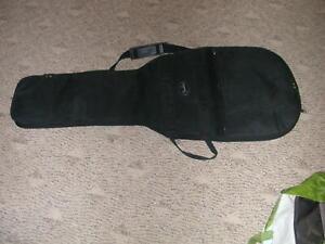 Appris Guitare Fender Soft Shell Toile étui De Transport Poignées Zipper Sac à Dos Une Sangle-afficher Le Titre D'origine Circulation Sanguine Tonifiante Et Douleurs D'ArrêT