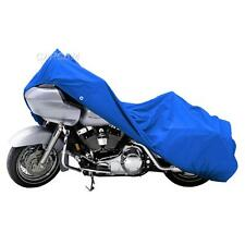 XXXL Blue Motorcycle Storage Cover For Harley Electra Glide Ultra Classic FLHT