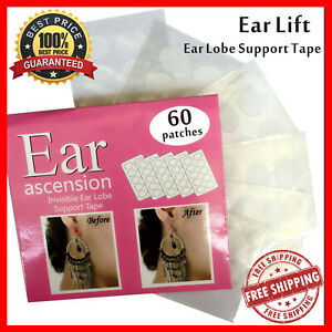 Invisible-Ear-Lift-Stickers-Relief-Strain-Tape-For-Torn-Lobe-For-Women-amp-Ladies