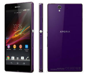 Debloque-Telephone-Sony-Ericsson-Xperia-Z-13-1Mpx-16GB-C6603-4G-LTE-NFC-violet