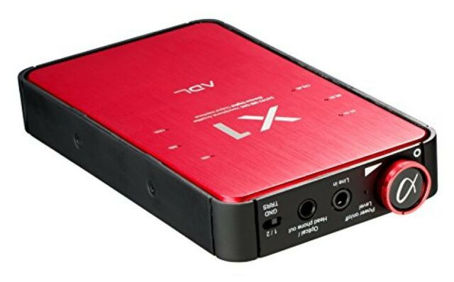 FURUTECH ADL X1 USB headphone equipped headphone amplifier / red from japan