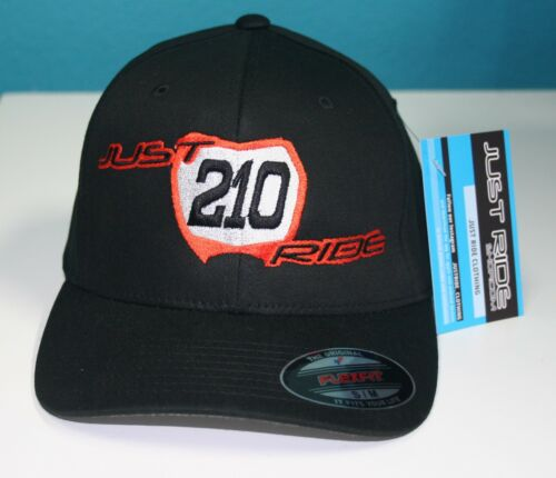 MOTOCROSS FLEXFIT HAT CAP CUSTOM MX RACE NUMBER PLATE JUST RIDE MOTO DIRT BIKE