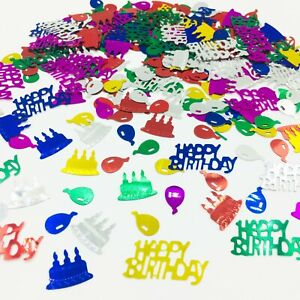 Happy-Birthday-CONFETTI-TABLE-SPRINKLES-Multi-colour-TABLE-DECORATIONS-party