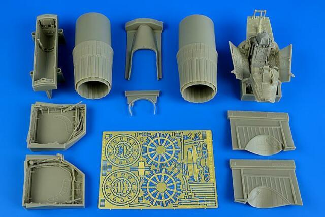 AIRES 2212 Detail Set for Trumpeter® Kit Su-27 Flanker B in 1:32
