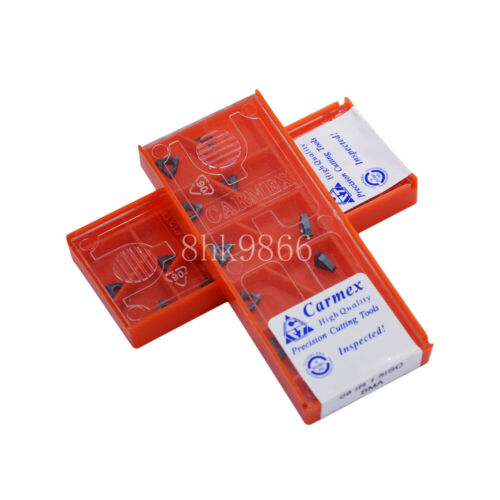 20pcs Carmex 08IR 1.5 ISO BMA High quality Threading blade Carbide Inserts