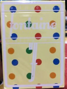 FONTAINE FUTURES POLKA DOT EDITION Playing Cards 1//1500 NEW SEALED AUTHENTIC