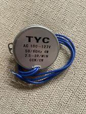 New Listingtyc 50 Ac 110v Synchronous Motor 25 3rpm Cwccw 4w Torque 12kgfcm 5060hz Tool