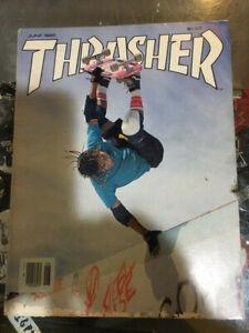 Thrasher-Skateboard-Magazine-June-1985-Steve-Caballero-Ray-Underhill-6-85-Jun