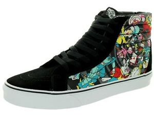 eb5036f5e4f Image is loading Vans-Disney-Rabbit-Hole-Sk8-Hi-Alice-in-