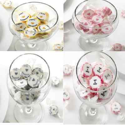 New wedding just married Mr Mrs candy buffet table cart sweets approx 50 pieces