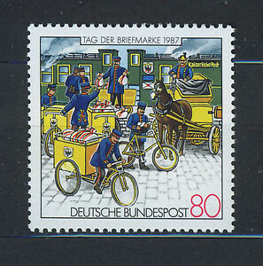 ALEMANIA-RFA-WEST-GERMANY-1987-MNH-SC-1515-Stamp-Day