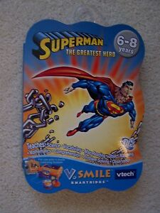 V Smile Smartridge SUPERMAN THE GREATEST HERO     NEW