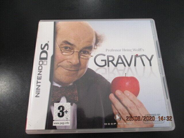 Gravity nintendo DS complet boite et notice