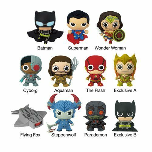 The Flash Figural Keychain DC Comics Blind Bag Key Chain Justice League NEW