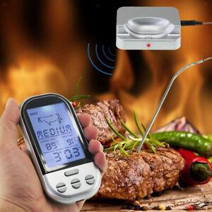 Kit Di Termometro Barbecue Telecomando Carne Sonda BBQ Utensili Temperatura