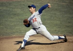 MLB-Los-Angeles-Dodgers-Sandy-Koufax-Action-Photo-8-X-10-Color