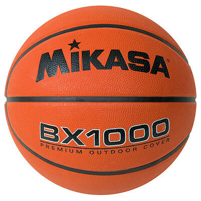 MIKASA BX1000 Mens Basketball Ultra Grip Composite Official Size 7 Outdoor 29.5/""