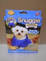 Blue Snuggie For Dogs, Size Xtra Small Snuggie Blanket Coat