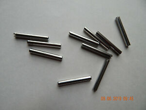 "STAINLESS STEEL ROLL PINS 18-8 NEW 3//16 x 1 3//4/"" 10 PCS"