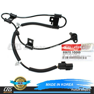 Front Right ABS Wheel Speed Sensor 956711E100 for 06-11 Hyundai Accent