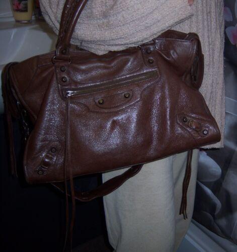 Sac Collector Balenciaga Leather City Bag 2006 6qawAfBxZw