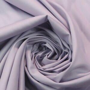 Imperial Lavender Purple Cotton Sateen Drapery Multiuse