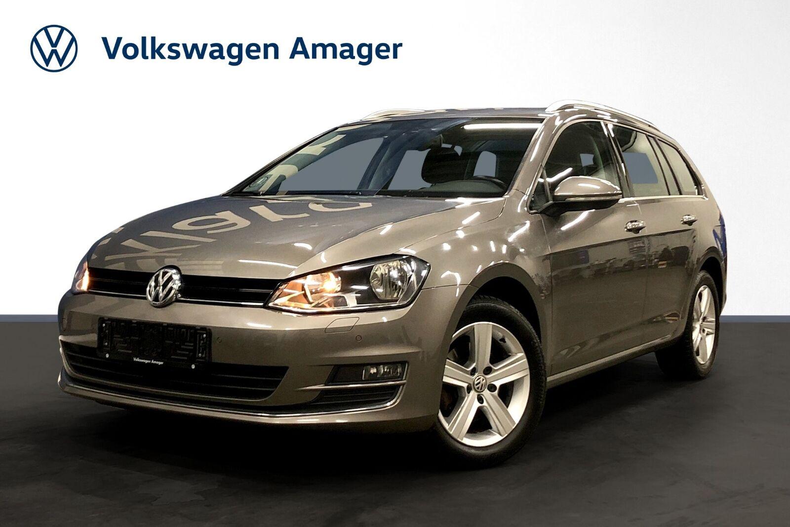 VW Golf VII 1,4 TSi 150 Highl. Vari. DSG BMT 5d - 219.900 kr.
