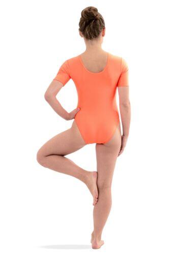Damen Body mit kurzen Ärmeln Kurzarm-Body stretch shiny glänzend elastisch S-XXL