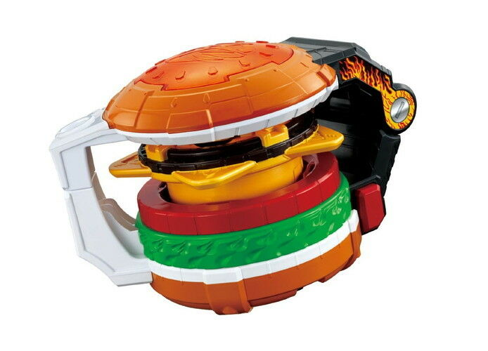POWER RANGERS Shuriken Sentai Ninninger Ninja Star Burger Changer Device F S