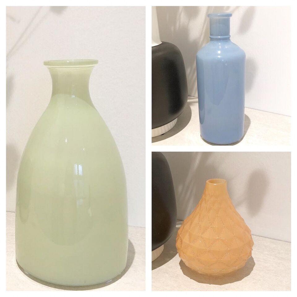 3 glas vaser, Rice