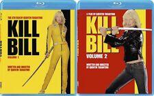 Kill Bill: Volume 1 & 2 Combo Set [Blu-ray, Quentin Tarantino, Region A, 2-Disc]