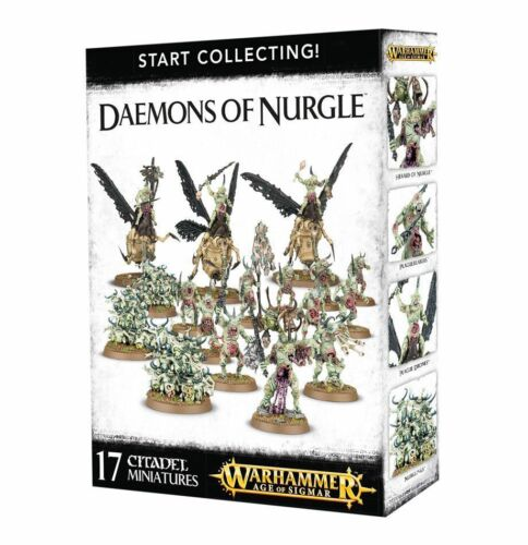 70-98 Warhammer AoS Daemons of Nurgle Brand New in Box! Start Collecting