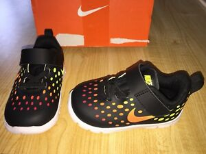 on sale 8e287 de2f4 Image is loading USED-NIKE-FREE-EXPRESS-INFANT-TODDLER-SZ-6C-